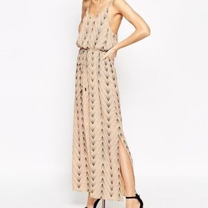 Selected Femme Tomi Maxi Dress in Print